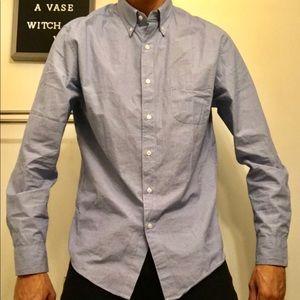 J. Crew Light Blue Secret Wash Shirt. Size: Medium